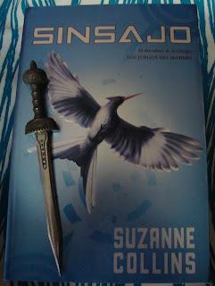 Portada del libro Sinsajo, de Suzanne Collins