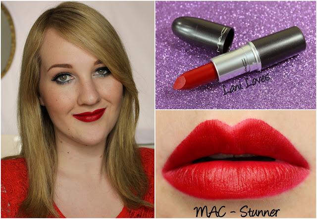 MAC Stunner lipstick swatch