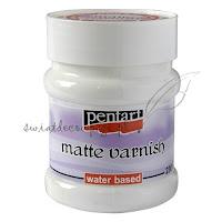 http://swiatdecoupage.pl/Lakier-matowy-na-bazie-wody-PENTART-Matte-Varnish-230-ml-p1581