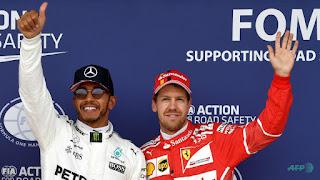 FÓRMULA 1 - Lewis Hamilton fue el más rápido en Spa y recorta distancias en el Mundial