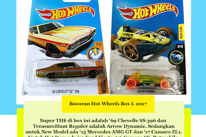 Bocoran Hot Wheels Box L 2017