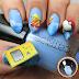 3D Baby Pikachu & Gameboy Nail Art