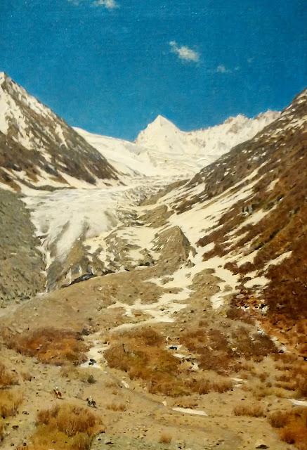 В.В. Верещагин Ледник по дороге из Кашмира в Ладакх. 1875 г.