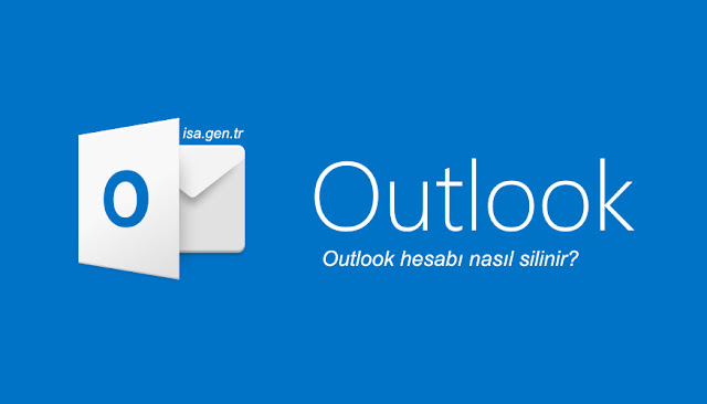 outlook hesap silme
