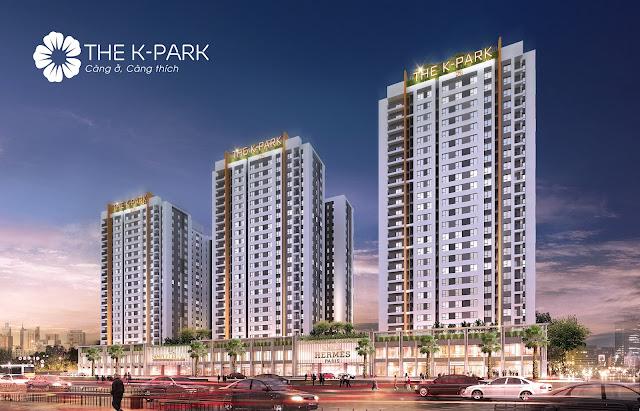 Phối cảnh dự án The K-Park