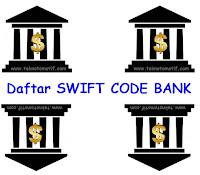 #45 daftar kode swift bank yang ada di Indonesia (BCA, BNI, BRI, Mandiri, BTN, Mandiri Syariah.