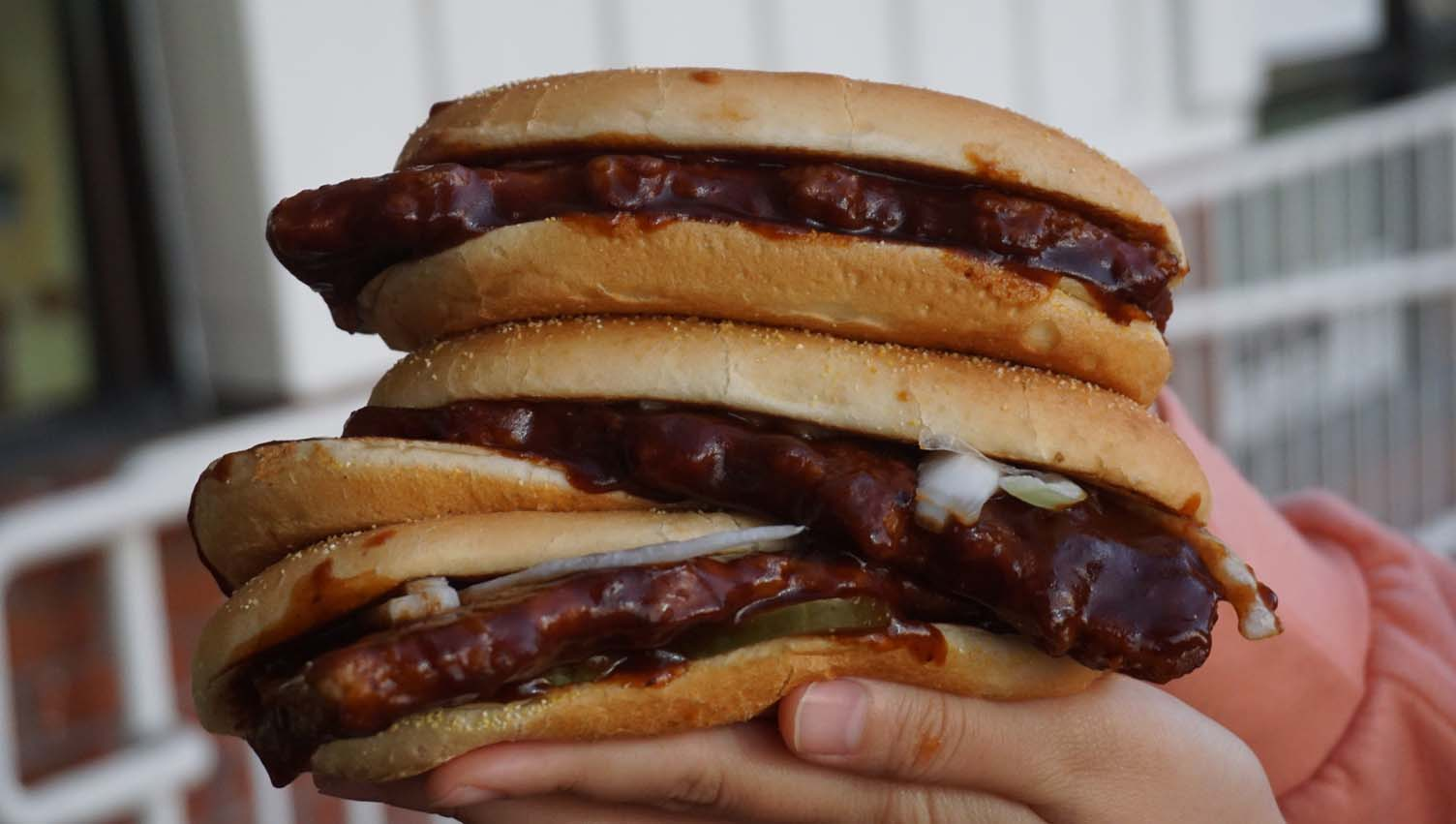 The McRib Is Back For a Limited Time! @ McDonald's! And We Finally Tried It For the First Time!