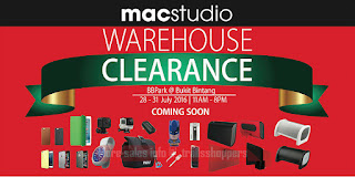 Macstudio Warehouse Clearance Sale