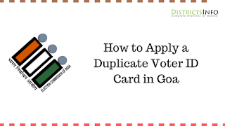 How to Apply a Duplicate Voter ID Card in Goa
