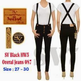 Celana Jeans Wanita Hitam
