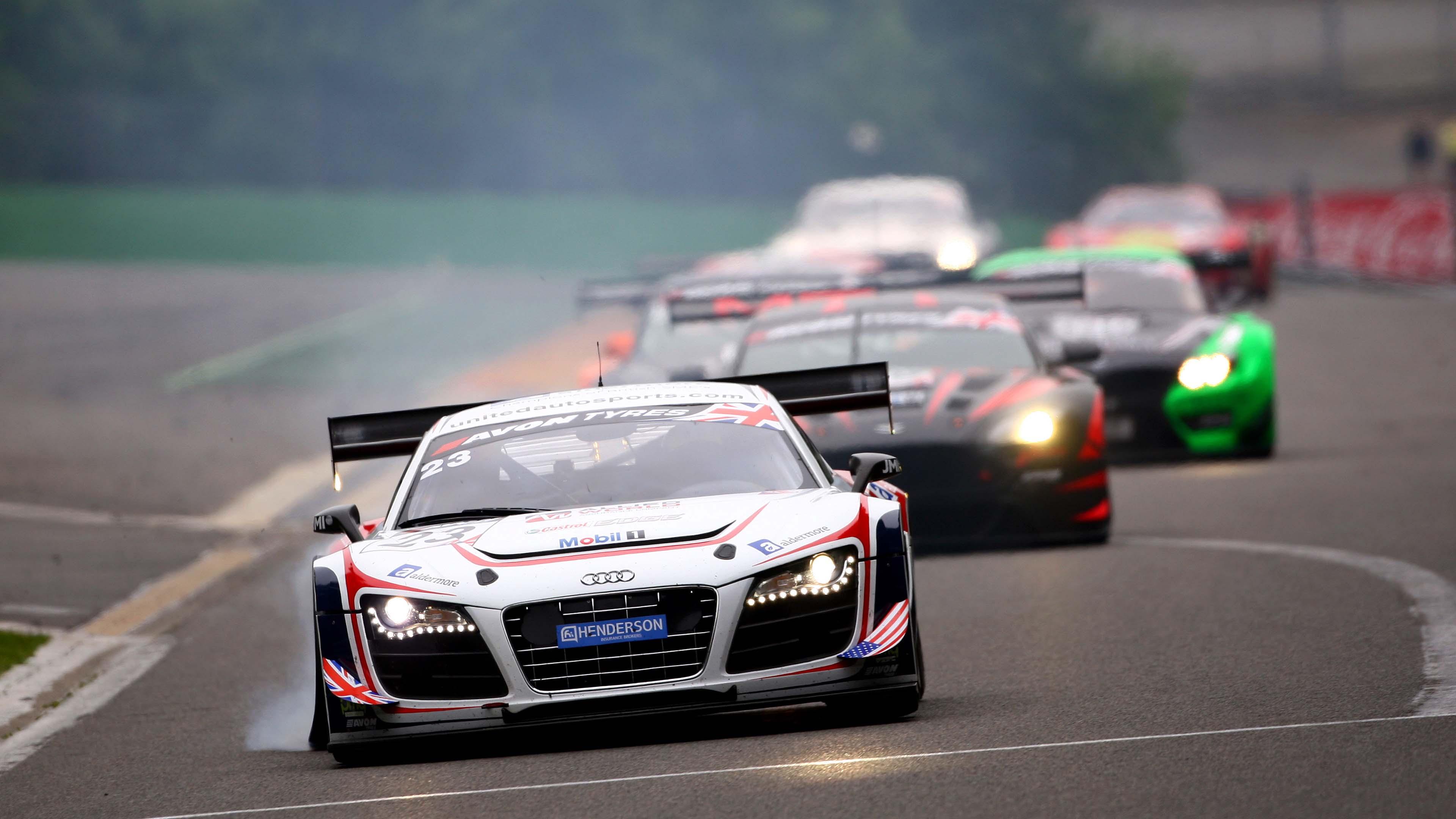 Audi Racing Cars Hd Wallpapers