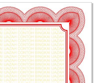 belajar coreldraw trik cepat membuat bingkai ijazah dengan coreldraw belajar coreldraw