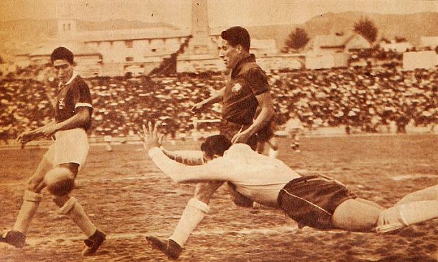 Bolivia y Chile en Clasificatorias a Suecia 1958, 29 de septiembre de 1957