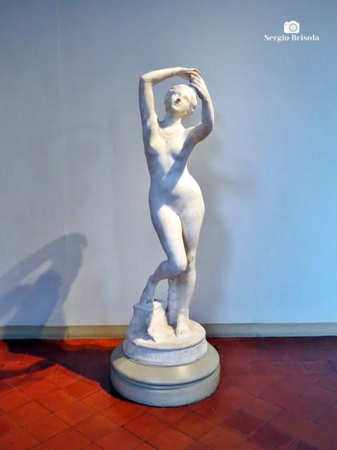 Close-up da Escultura Crysis - Pinacoteca - Luz - São Paulo