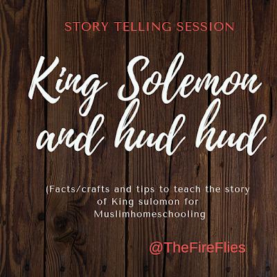 King Solemon and Hud Hud Islamic stories for children.