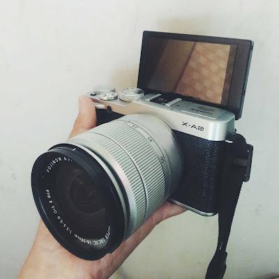 Fujifilm xa2, fujifilm, xa2, selfie