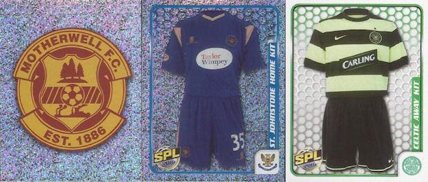 PANINI Football 87 Sticker No.489 DUNDEE Team Group