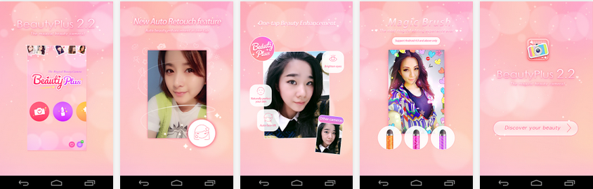 Aplikasi Kamera Android Terbaik - BeautyPlus - Magical Camera