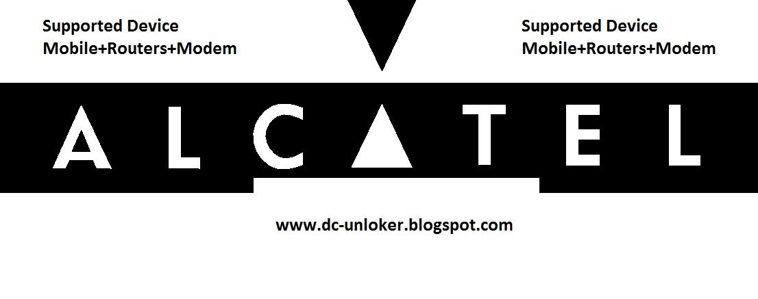 Alcatel modem unlocker software