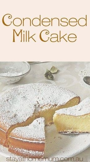 Condensed Milk Cake | Rahasia Masak