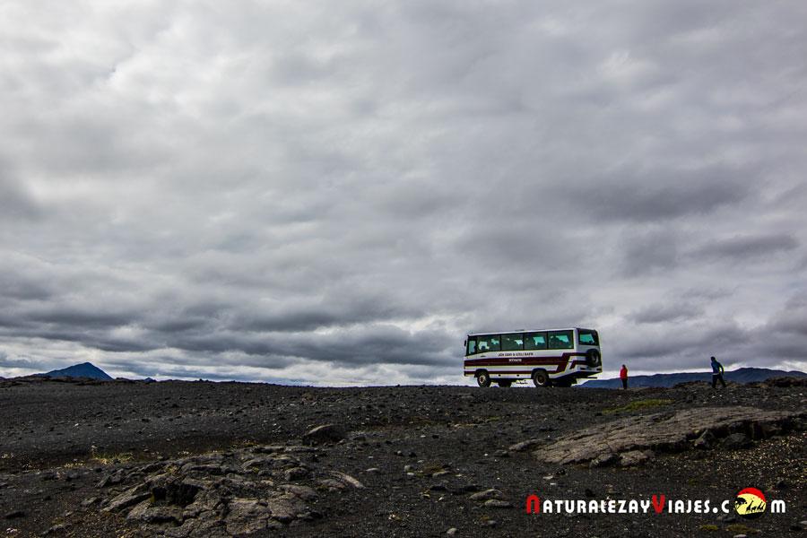 Excursión a las tierras altas de Askja, Islandia