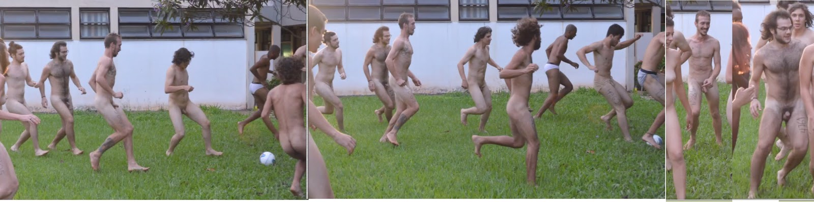 naked camp males