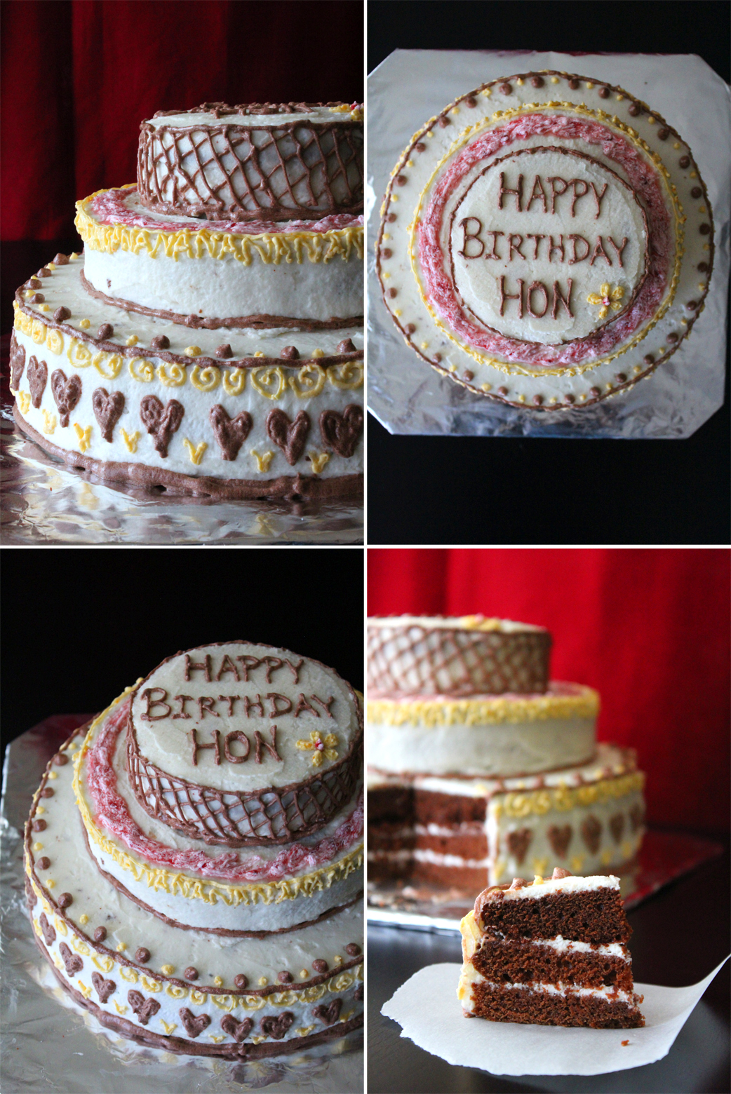 Birthday Cake Ideas Simple Decoration Cake Simple