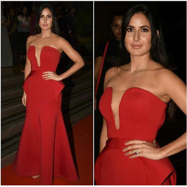 Fashion Beauty Awards 2017: Katrina Kaif In Abu Jani Sandeep Khosla At Hello! Hall Of