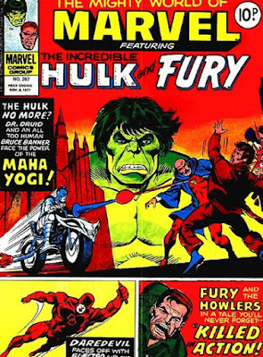 Mighty World of Marvel #267, the Hulk