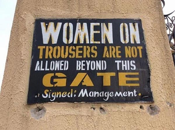 As seen in an Anglican church in Nnewi