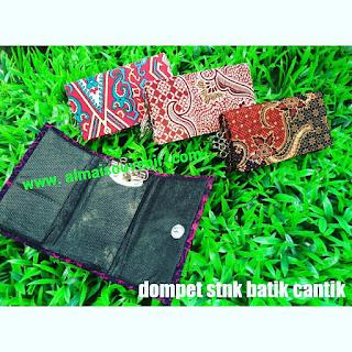 souvenir jogja dompet stnk batik cantik