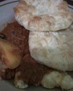 roti puri, cara hasilkan roti puri kembung
