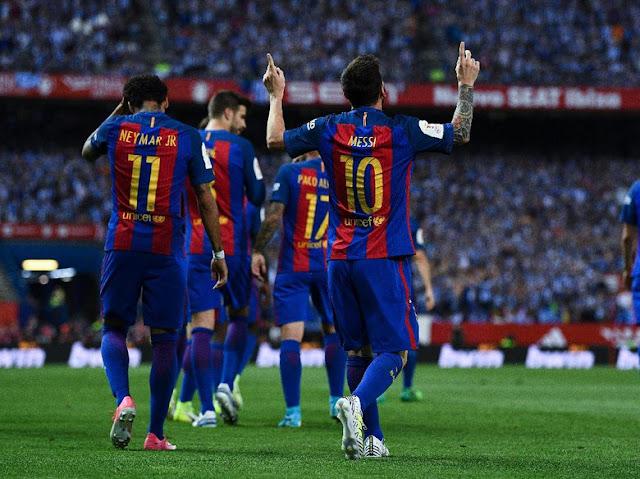 Barcelona Klub Pembayar Gaji Terbesar di Dunia