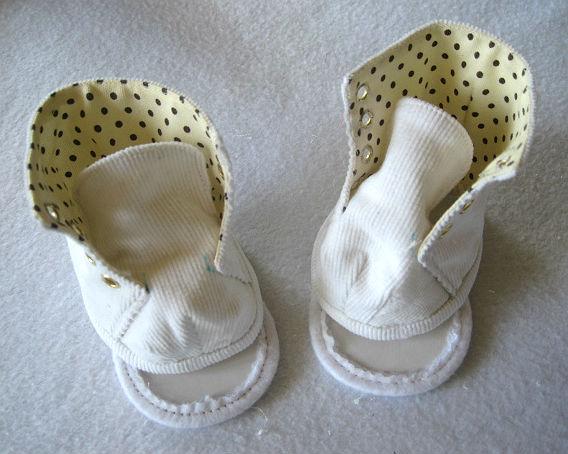 Обувь для куклы большеножки своими руками