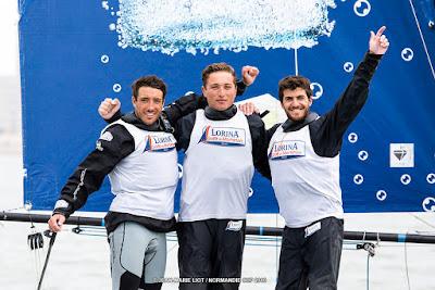 Quentin Delapierre et Team Lorina remportent la Normandie Cup