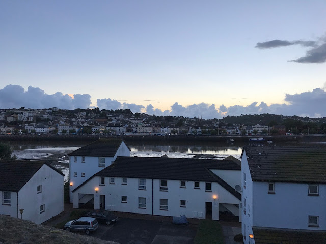 Looking towards the River Torridge from East-the-Water, Bideford, Devon