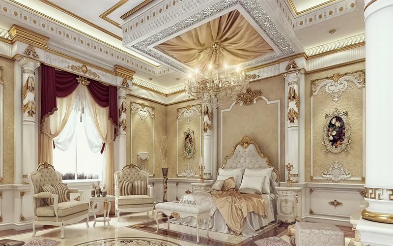 10 mẫu phòng ngủ phong cách Royal sang trọng và đẳng cấp nhất2