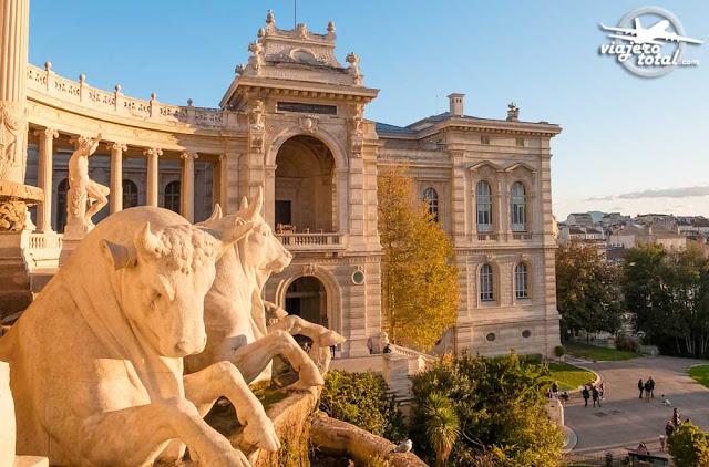 Marsella - Palacio de Longchamp