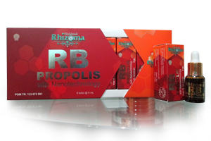 propolis brazilian rhizoma