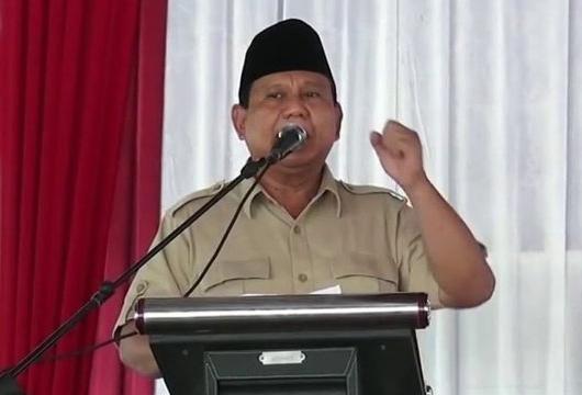 Akhirnya Prabowo Minta Maaf soal 'Tampang Boyolali'