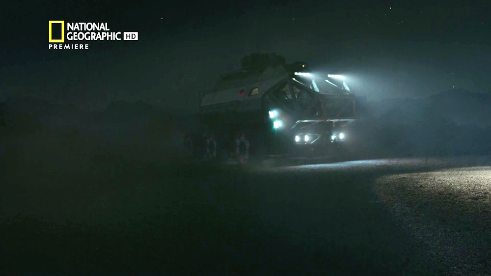 National Geographic's MARS - episode 3, season 2 (rover at night)