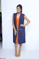 Priyamani in Beautiful Short Deep neck Orange Dress ~  Exclusive 39.JPG