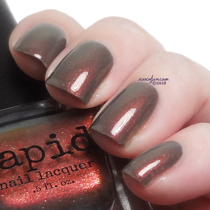 xoxoJen's swatch of Vapid: Smoke Screen