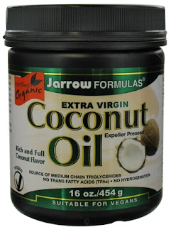 Jarrow Formulas, Organic, Extra Virgin Coconut Oil, 16 oz (454 g)  زيت النارجيل الطبيعي