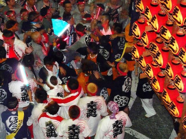 Chochin Toro Matsuri (lantern float), Kuki City, Saitama Pref.