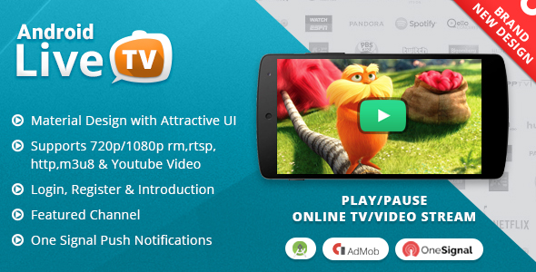 online tv app free download for android