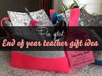 End of year teacher gift idea - Pin getest