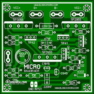Membuat Amplifire Lapangan Micro Pakdhe Bawor