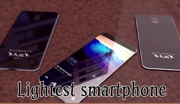 Lightest smartphone in the world