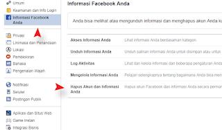 Cara Menghapus Akun Facebook Permanen Berhasil